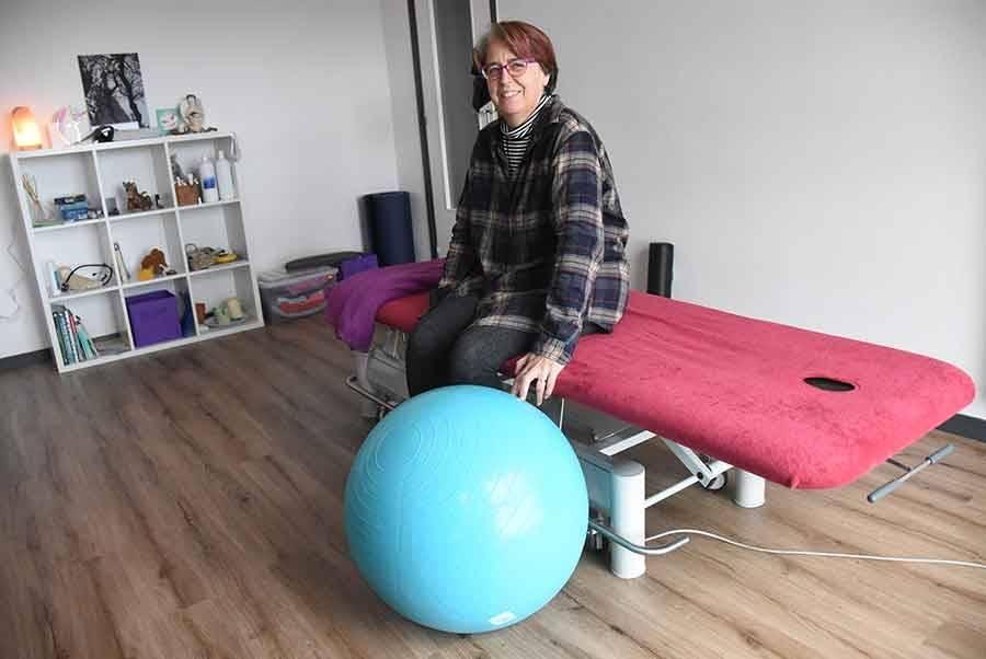 Une masseuse-kinésithérapeute s'installe à Fay-sur-Lignon