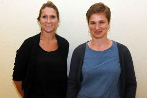 Clémence Dauchy et Emilie Elleouet