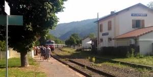 Une balade de 21 km des châteaux d'Alleyras ce mardi 18 août