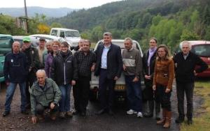 Allier : 170 000 alevins de saumons déversés en amont du barrage de Poutès