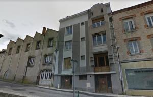L'ancienne usine à gauche a été démolie