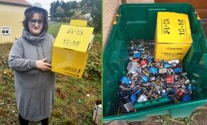 Montfaucon-en-Velay : sa collecte de piles va revenir au Téléthon