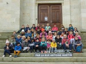 Montfaucon-en-Velay : les écoliers d'Abel-Grimmer à la découverte du cinéma d'animation