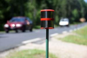 Des piquets réflecteurs entre la Séauve et Saint-Pal-de-Mons pour réduire les collisions avec le gibier