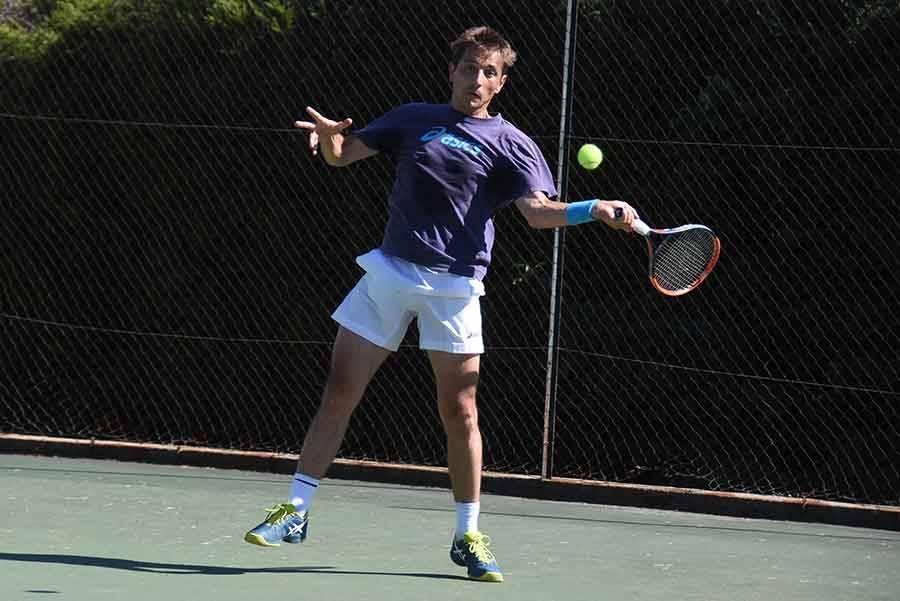 Benoit Dupré a perdu en finale du tournoi principal
