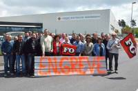 Une centaine de salariés sont en grève sur les 134 que compte l'entreprise.