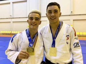 Jujitsu : Rémi Boulamoy et Pierre Guinant sacrés champions d'Europe