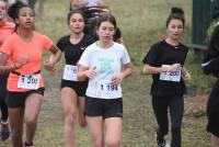 Cross UNSS : les cadettes et juniors
