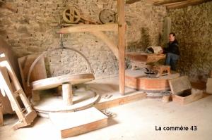 Le moulin du Fraysse à Saint-Jeures