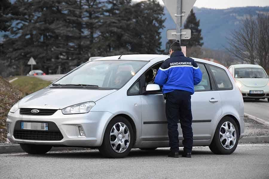 Huit permis de conduire retirés ce week-end