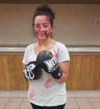 Blavozy : Halloween s'invite au club de boxe française