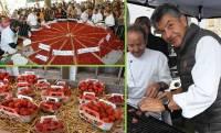 Saint-Bonnet-le-Froid : une tarte géante aux fruits rouges mardi pour le Tour de France