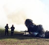 Retournac : le feu prend sur une remorque de paille