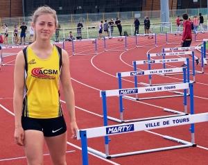 Valentine Januel, une athlète assidue aux championnats de France