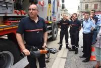 Pompiers, policiers et gendarmes : des actions médiatiques cette semaine en Haute-Loire