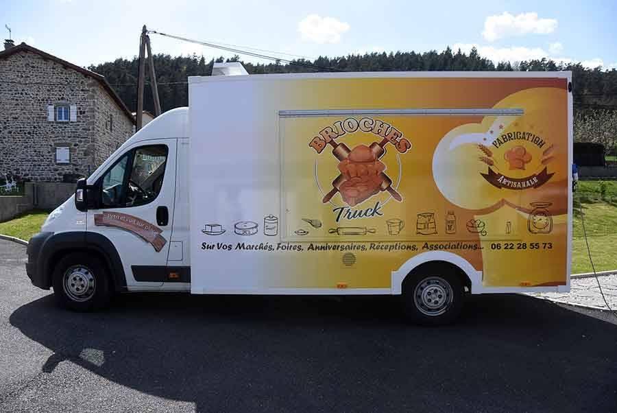 Retournac : Cédric Mazel crée le premier Brioches Truck
