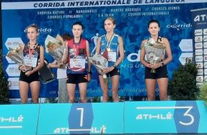 Course pédestre : Laurine Roupie sur le podium