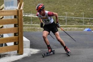 Montregard : Arthur Cholvy dans le Top 10 aux championnats de France de ski roue