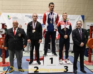 Force athlétique : Florian Nativel, un nouveau champion d'Europe à l'Athlétic-Club du Puy-en-Velay