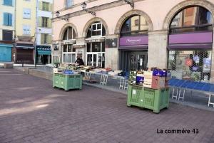 Puy-en-Velay : les producteurs locaux seront plus nombreux, jusqu'à 8 par jour