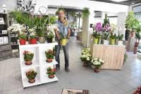 Retournac : Samba Fleurs, plus de 100 m2 d'espaces fleuris