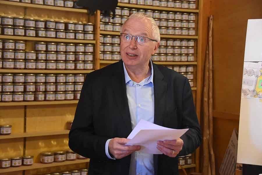 André Perrier, président de Goûtez Pur Suc