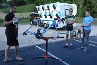 Chambon-sur-Lignon : les coureurs cyclistes ont pris leurs quartiers