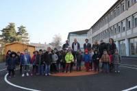 Puy-en-Velay : la cour de l'école Edith-Piaf réaménagée