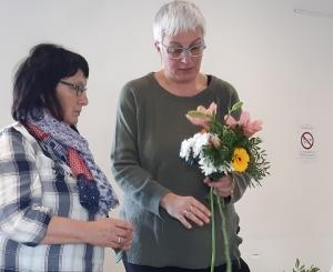 Du soleil dans la maison avec l'atelier d'art floral de Tence