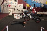 Une démonstration de moto trial avec Kenny Thomas jeudi 27 juillet au Puy-en-Velay