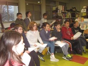 Chambon-sur-Lignon : des collégiens rencontrent un auteur de roman jeunesse