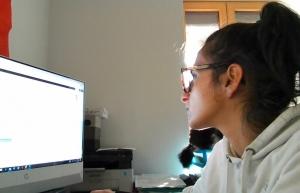 Tence : Audrey Girard de Gabbia crée des sites internet et propose des cours d'informatique
