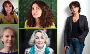 Quatre auteures et une comédienne se partagent l'affiche