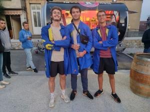 Saint-Pal-de-Mons : 300 étudiants de l'Ecole d'ingénieurs de Saint-Etienne en intégration active