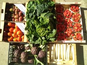 Fruits et légumes : avec Duchamp Drive, vous avez le choix entres les marchés et des points de retrait