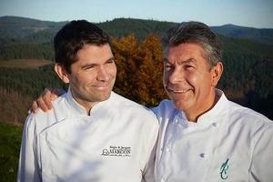 Régis et Jacques Marcon, toujours trois étoiles et un macaron vert en plus