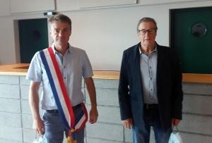 Mas-de-Tence : Olivier Broussard, premier maire installé du Haut-Lignon