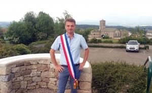 Olivier Broussard maire du Mas-de-Tence
