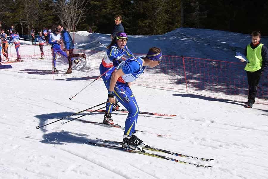 Ski de fond : deux équipes de Haute-Loire dans le Top 10 aux championnats de France UNSS