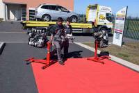 Les professionnels de l'automobile se retrouvent à Bains pour un salon spécialisé