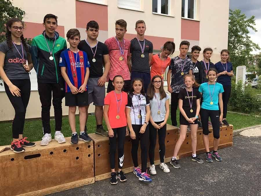 Saint-Julien-Chapteuil : un cross au collège Jules-Romains pour finir l'année