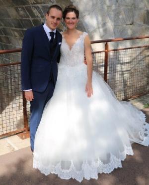 Carnet blanc : Carole et Cyril à Grazac