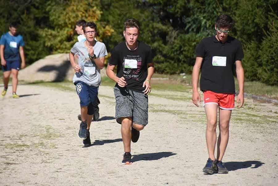 Cross des lycées publics d'Yssingeaux : les cadets