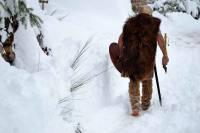 Il n'y a pas que les enfants que la neige ravit...