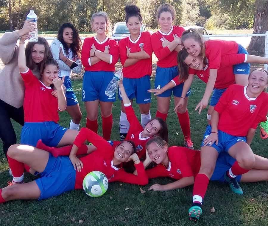 Dunières : les footballeuses U18 détonnent depuis trois ans