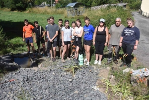 """Beaux : le chantier de jeunes s'intéresse aux puits de """"Courenc"""""""