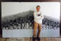 Le peintre Cheung Chi Wai expose à l'Espace d'art contemporain Les Roches.
