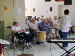 Le Chambon-sur-Lignon : les tambours des Genêts ont repris du service