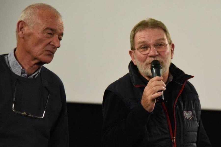Henri Dravet et Yves Béal.