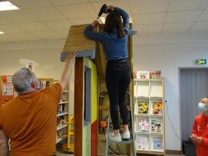 Tence : les artisans messagers ont fait étape au collège de Lionchère